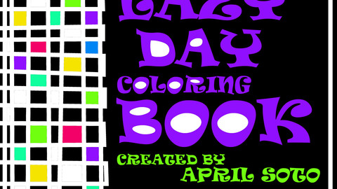 LAZY DAY COLORING BOOK #1