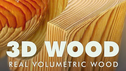 Real 3D_Wood for Substance Painter (smart material)