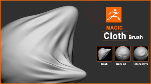 ZBrush Cloth magic Brush