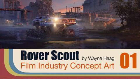 Rover Scout - Concept Art Tutorial