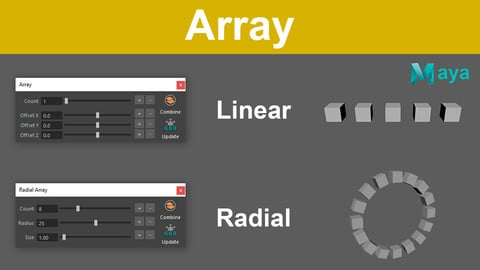Array - Script for Maya