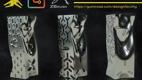 ZBrush - DRF 3861 IMM Hard Surface Brushes Vol.1