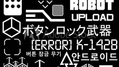 Cyberpunk Style Elements vol.1