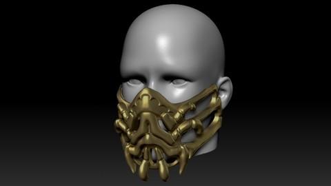 Quarantine Mask Scorpion Mask