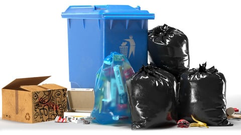 Garbage Bin Set1