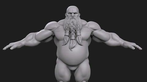 Male Dwarf BaseMesh