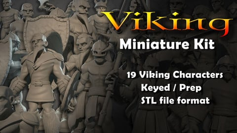 Viking Miniature Model Kit