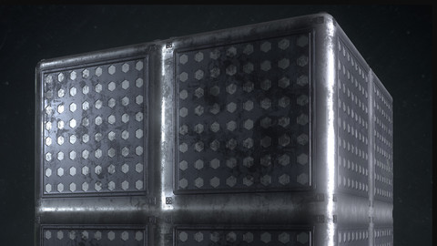 PBR Sci-fi floor material