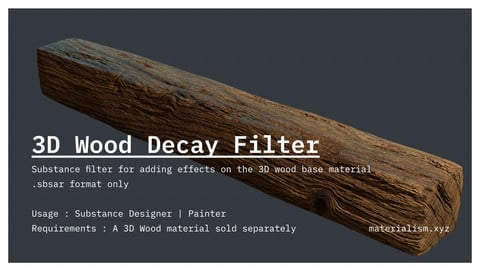 3D Wood Decay Filter