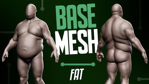 Basemesh Fat Male