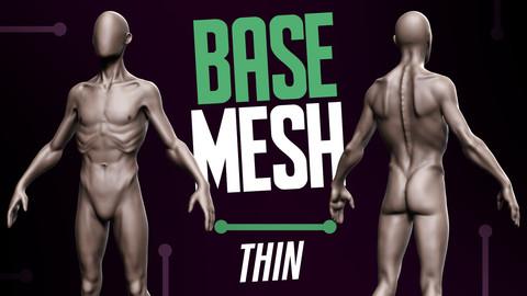 Basemesh Thin Male