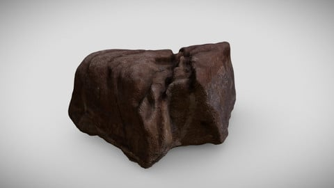 Photoscanned Stone