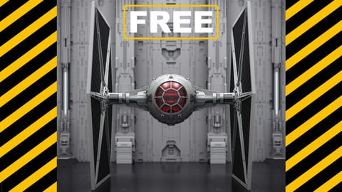 FREE TIE FIGHTER