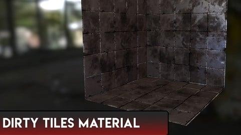 Dirty Tiles Material