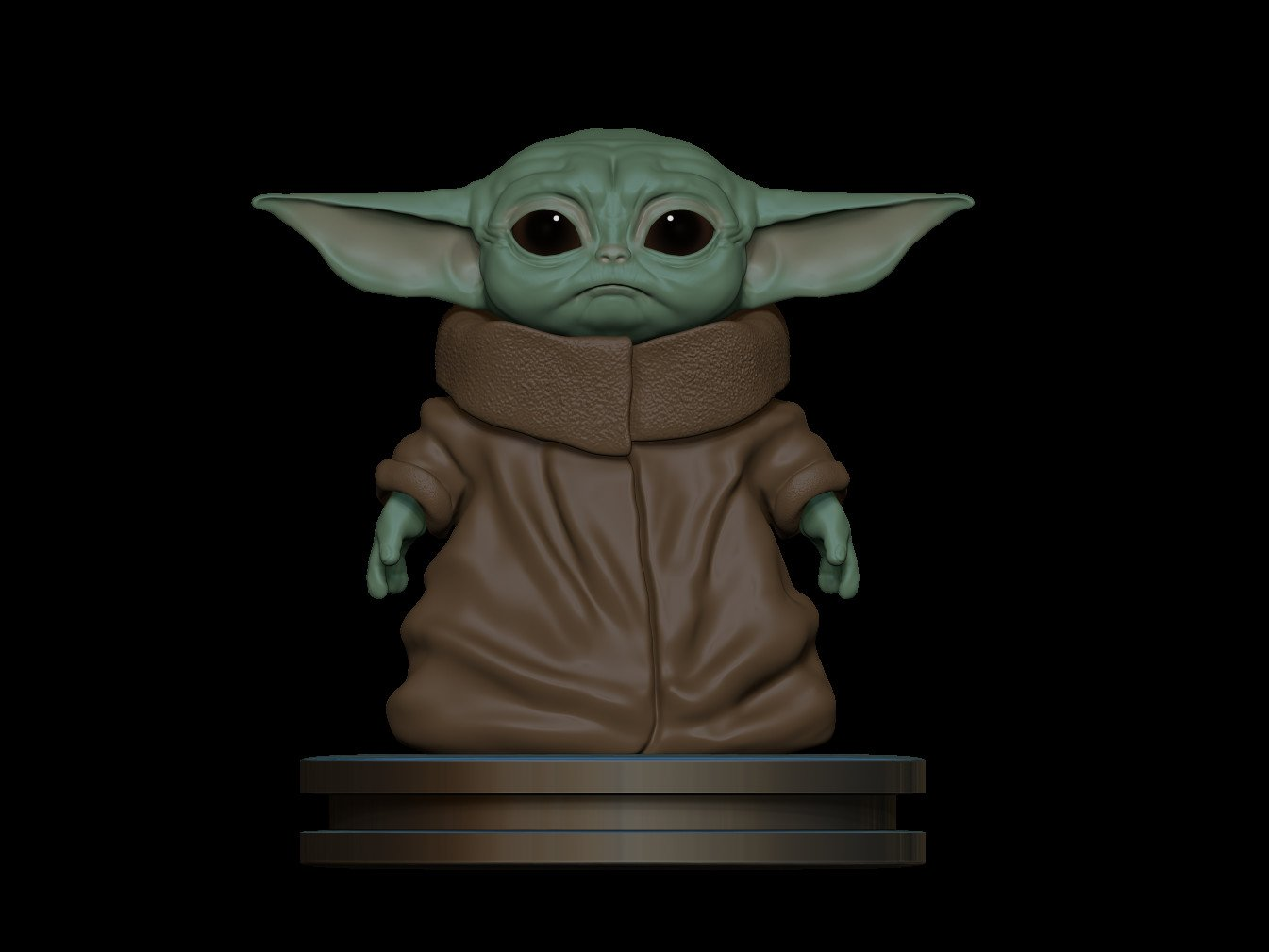 ArtStation - Baby yoda/ the child | Resources