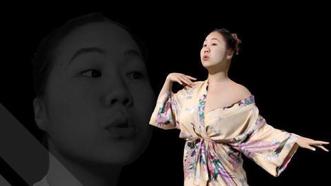 Female Scan - Lily Kimono Costume Low-poly