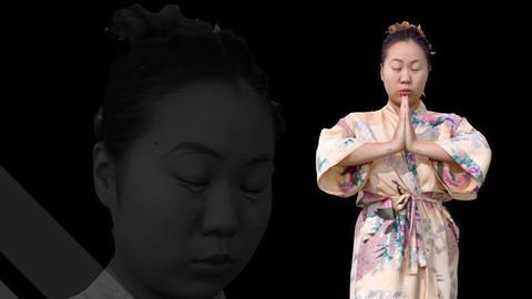 Female Scan - Lily Kimono Costume 2 Low-poly