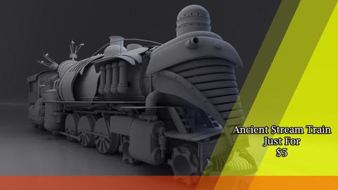 Ancient Stream Train
