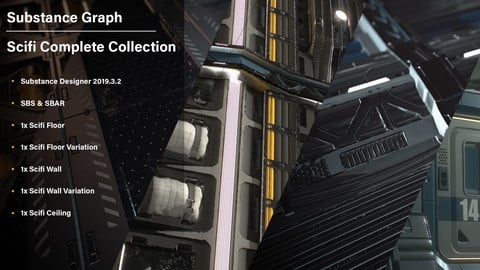 Artstation Learning | Scifi Collection| Substance Graphs