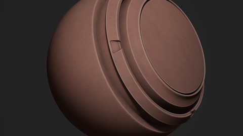 Stylized Vegetable Skin Smart Material for Substance Painter