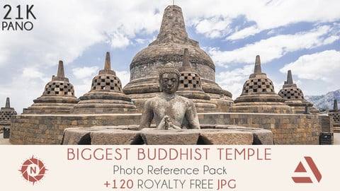Photo Reference Pack: Biggest Buddhist Temple