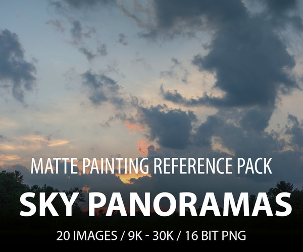 ArtStation - Matte painting pack - SKY Panoramas   Resources
