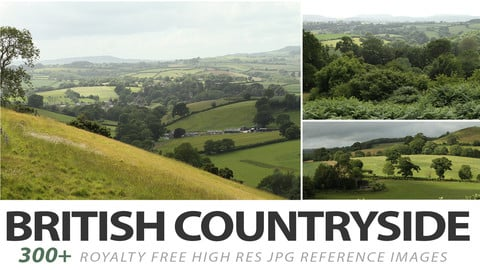 British countryside - reference photos