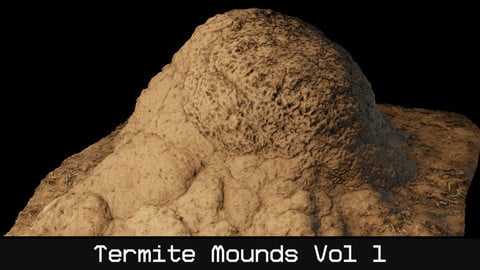 (UE4) Termite Mounds - Vol 1