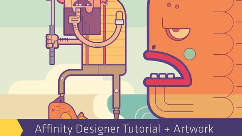 Pirate Tutorial in Affinity Designer eBook