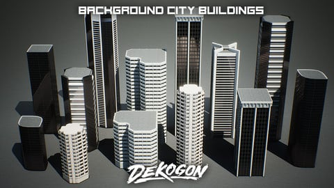 Urban Background Buildings - VOL.1