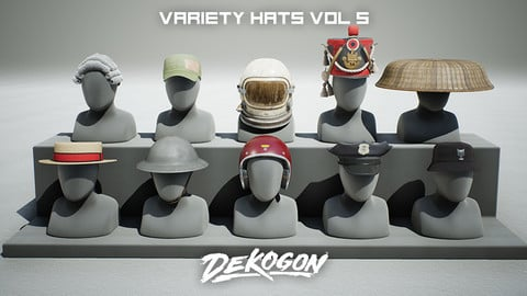 Variety Hats Pack - VOL 5