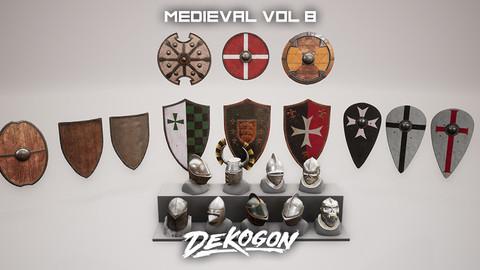 Medieval - VOL 8 - Shields and Helmets