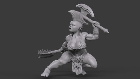 Female Dwarf Warrior_05