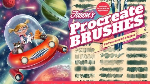 Jason's Procreate Brushes