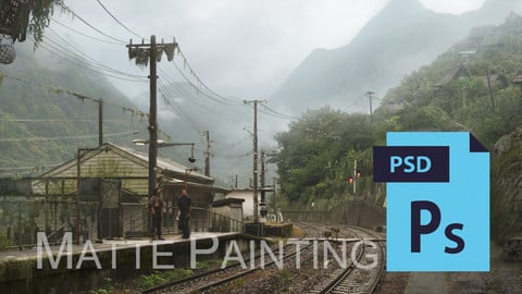 Dust - Matte Painting II. - PSD file