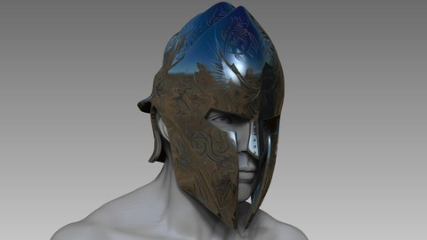 Elite Guardian Helmet - Sculpt