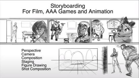 Understanding Storyboarding For Film, AAA Games And Animation