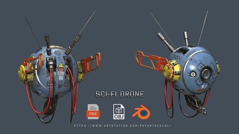 Sci Fi Drone