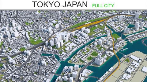 Tokyo City Japan 3D Model