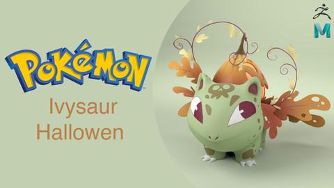 Pokemon Ivysaur Hallowen