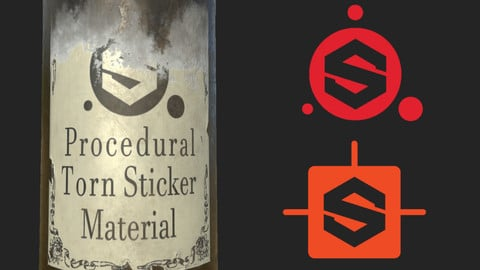 Procedural paper-based sticker material