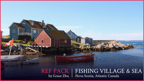 Fishing Village and Sea - Ref Pack
