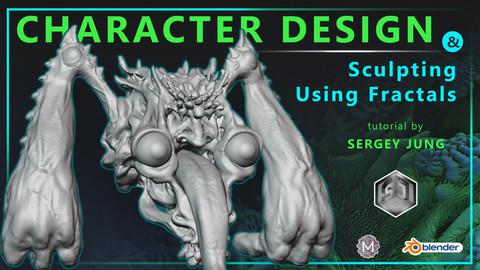 Character Design and Sculpting Using Fractals
