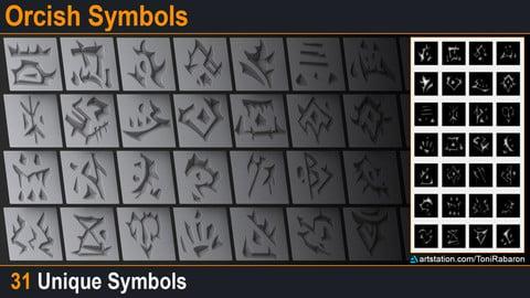 FREE Orcish Symbols
