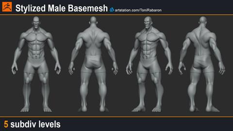 Stylized Male Basemesh
