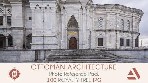 Photo Reference Pack: Ottoman Architecture