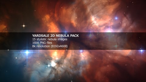 YARDSALE 2D Nebula Pack
