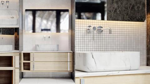 Bathroom Furniture Anati Set_01
