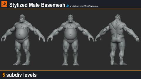 Stylized Basemesh set