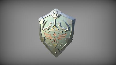 Hylian Shield STL